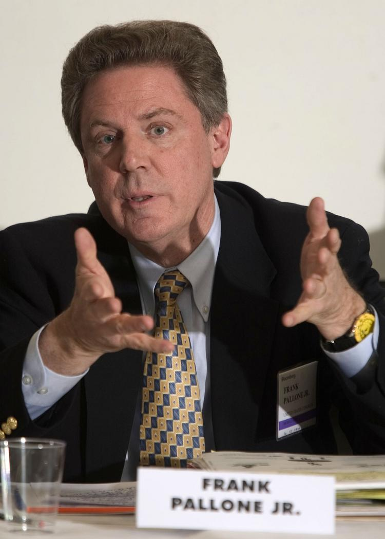 Rep. Frank Pallone will seek the Democratic nomination for US Senator from New Jersey.