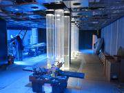 The main entrance to the new $12.5 million Blacktip Reef exhibit set to debut July 10 at Baltimore's National Aquarium.
