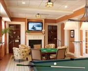 A photo of the game room at WhiteStone after the renovations.