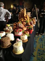 HEB showcased its breads and pastries, as well as many wines.