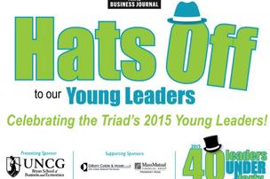 Tipping our hats to the 2015 class of 40 Leaders Under Forty.