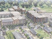 Alpharetta City Center: Phase two could include 220 housing units, 75,000 square feet of retail and restaurant space, and 33,000 square feet of office.