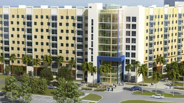 Fiu Gets Approval For 410 Campus Housing Units South Florida Business Journal