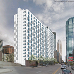 18-story residential tower pitched for 10th and Marquette