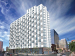 Developer's downtown strategy: Itty bitty apartments
