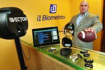Kirkland based i1 Biometrics developed high tech mouth guard to protect impact sport athletes