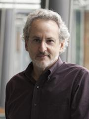 The founding faculty members of the Wyss Institute for Biologically Inspired Engineering are leaders in biologically inspired engineering. Don Ingber is pictured in the New Research Building.
