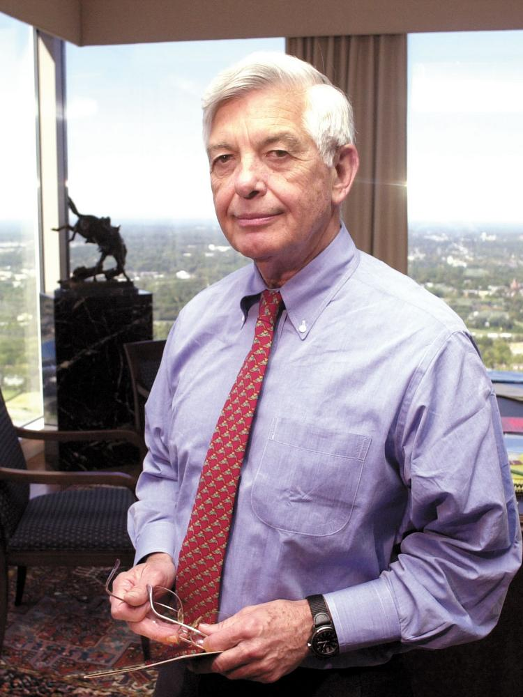 Hugh McColl Jr. is a former chairman and CEO of Bank of America Corp.