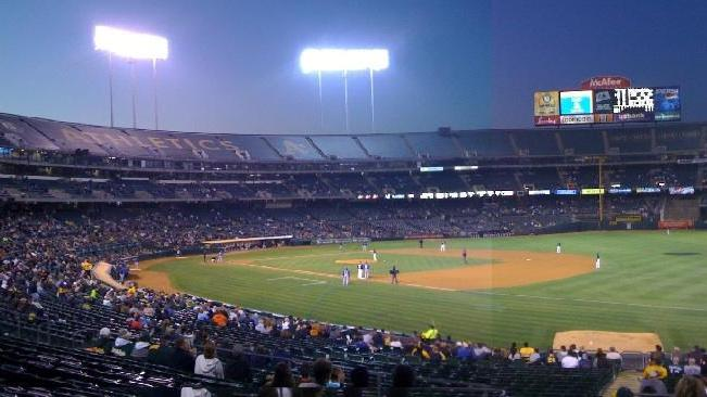 It's looking more and more like the A's will be enjoying more time at the lovely Oakland Coliseum.