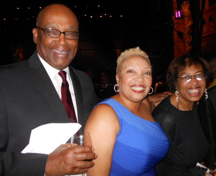 Norman Rice (from left), Wanda Herndon and Constance Rice were among the attendees at The 5th Avenue Theatre's June 8 gala. Herndon is the theater's incoming board chair.