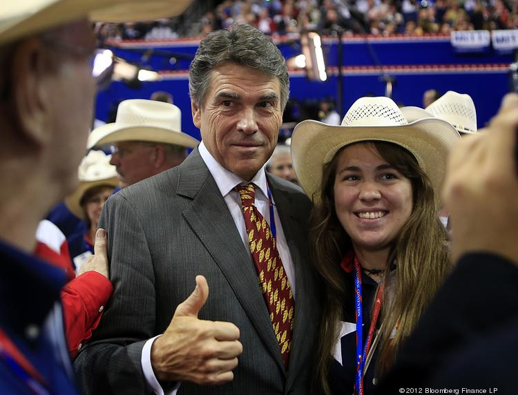Rick Perry, governor of Texas.