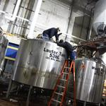 Old Heavy Seas Beer tanks will soon be used to make brandy and whiskey