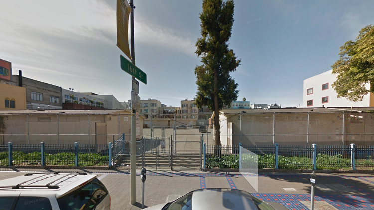 """The vacant 1950 Mission St. site should have a developer before the summer. The site can hold about 115 units of affordable housing and a """"navigation center"""" for the homeless."""