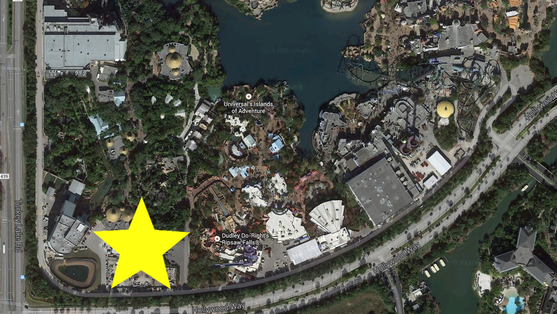 See rumored site for Universals King Kong ride Orlando Business
