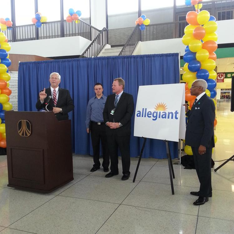 Ultra Low-cost Carrier Allegiant Air Announced Its
