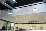 The Sweet Shop, tucked away in the corner of the smokehouse, features large portions of cookies, brownies and other homemade recipes.