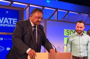 Jesse Jackson reminds Social Media Week that some things are bigger than social media (Video)