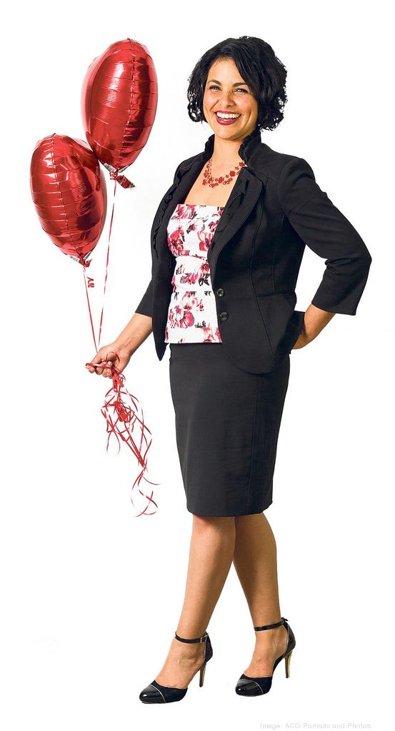 Jackie DeSouza volunteers with the American Heart Association and says she has plenty of heart to give others.