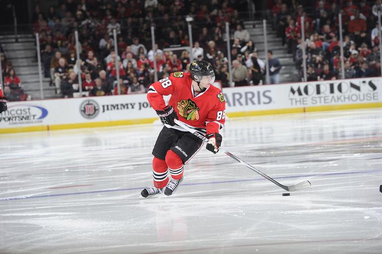 Patrick Kane was instrumental in the Hawks' game five Western Conference finals victory over the Los Angeles Kings.  Will he be able to do it again against the Bruins?