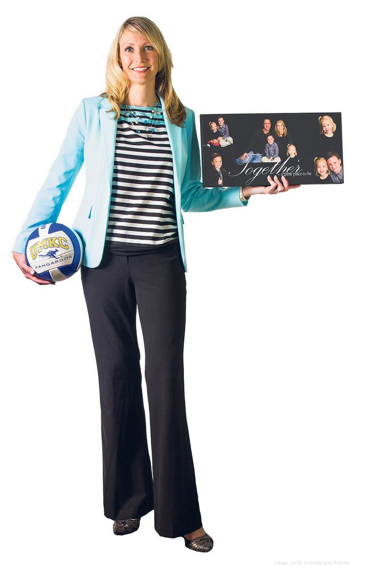 Angela Salmon is an avid volleyball fan and even played during college at the University of Missouri-Kansas City. Away from the net, she says she likes spending quality time with her family.