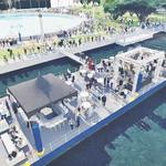Plans for new Southbank Riverwalk include a floating party barge