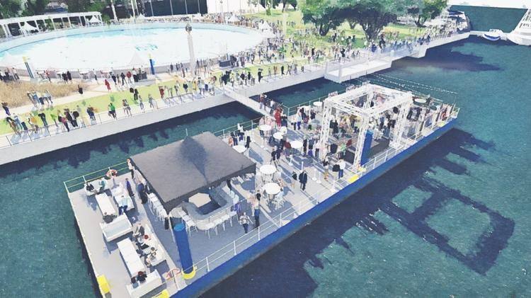 Jacksonville S Southbank Could Be Site Of Floating Party Barge With