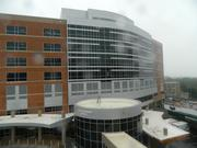 Wilmington Hospital's new nine-floor patient tower is the centerpiece of its ongoing $210 million expansion project.
