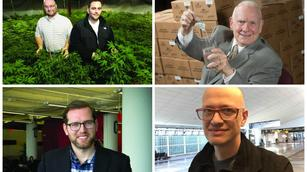 Upstarts to watch: Pot pioneers, the startup whisperer, and a Stevia convert