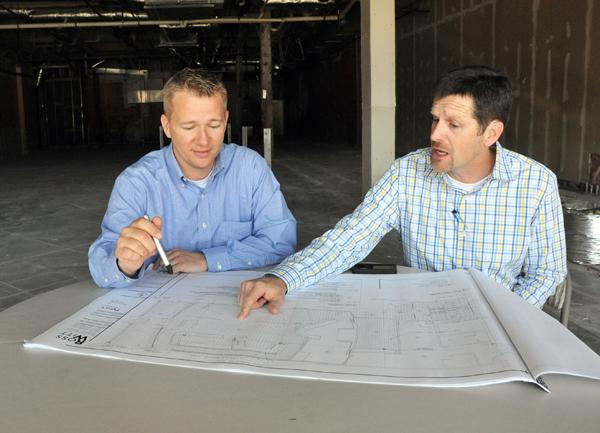 Chad Forman and Kirk Cotham are opening a second location of their new pizza chain in MIdtown.