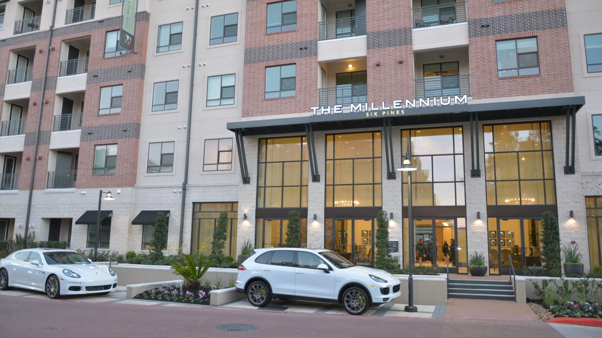The Dinerstein Cos.' Millennium Six Pines luxury apartments open in The  Woodlands - Houston Business Journal