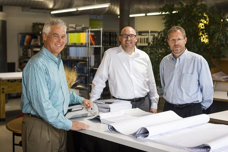 AMAI Architecture's' principals are Dave Anderson (from left), Steve Bowling and Michael MacAdam.