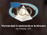 Viewpoint Construction Software Jay Haladay, CEO