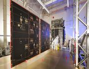 Lockheed Martin engineers complete final installations on SBIRS at the company's Sunnyvale facility.