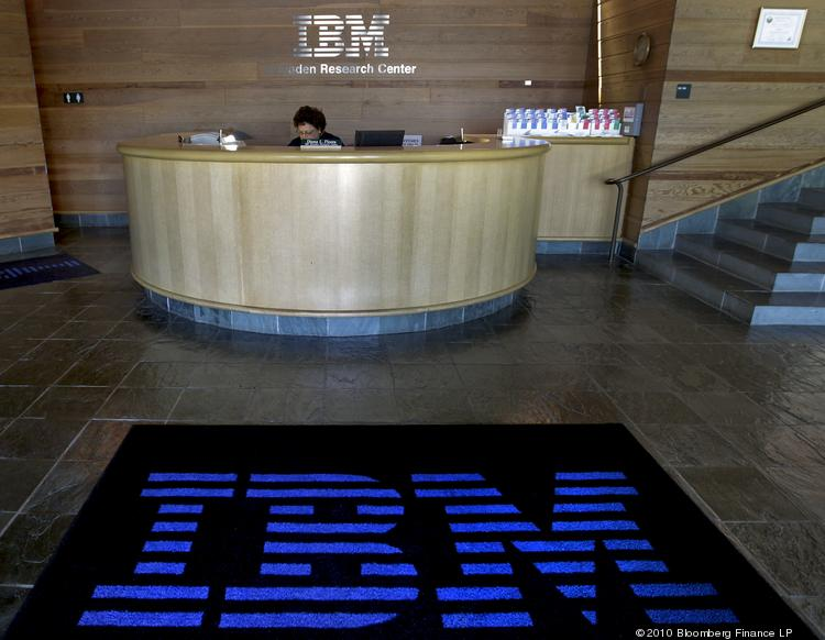 IBM will announce its second-quarter earnings on Wednesday.