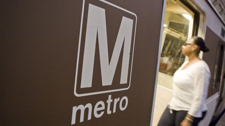 Metrorail's Blue Line heading to Largo was suspended Friday morning after a cracked rail was discovered.
