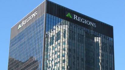 Birmingham-based Regions is still the only Alabama company on the Fortune 500, but its rank slipped significantly this year.