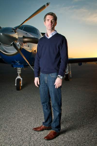 Surf Air, previously led by CEO Wade Eyerly (pictured here), has named former Frontier Airlines CEO Jeff Potter as the new chief.
