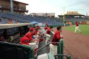Clearwater Threshers game at Bright House Field