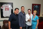 Randy Smith; Brian Jonas, Rob and Shannon Schofield with Card Quest