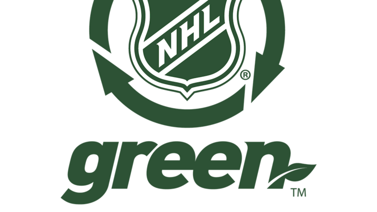 The NHL Green effort helped the league's commissioner earn kudos from Portland's Green Sports Alliance.