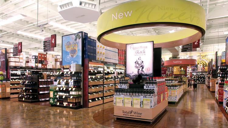 Total Wine & More has applied for an off-sale liquor license in Woodbury. It already has a store in Roseville and plans to open locations in Burnsville and Bloomington.