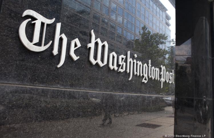 The Washington Post Co. headquarters in Washington, D.C. The company announced Monday that its newspaper operations are being acquired by Jeff Bezos, CEO of Amazon.com Inc. In a letter to employees, Bezos said he wants to remain in Washington state and let the current management in Washington, D.C., carry on.