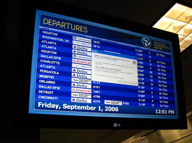 Huntsville, Ala., has the most-expensive average fare of any U.S. airport, at $544.