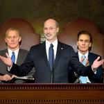Wolf pulls back on sales tax, still wants levy on natural gas