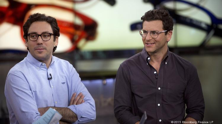 9b3251fb010b ... eyes second retail store in Boston. Email  Share · Share · Tweet · Save  · Print · Order Reprints. Warby Parker co-founders and co-CEOs David  Gilboa