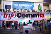 An audio visual utopia welcomes guests to InfoComm. And we're not even inside yet.