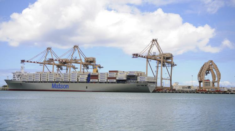 Bill cites matson inc profits in calling for study of shipping 39 s impact on hawaii 39 s cost of - Matson container homes ...
