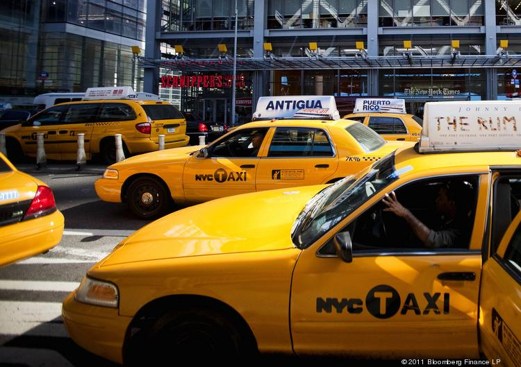 """A recent lawsuit aims to stop the New York taxi """"e-hail"""" pilot program."""