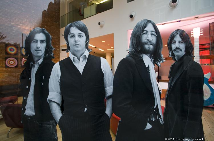 A new deal brings together The Beatles' North American merchandising rights and recorded music catalog under one roof.
