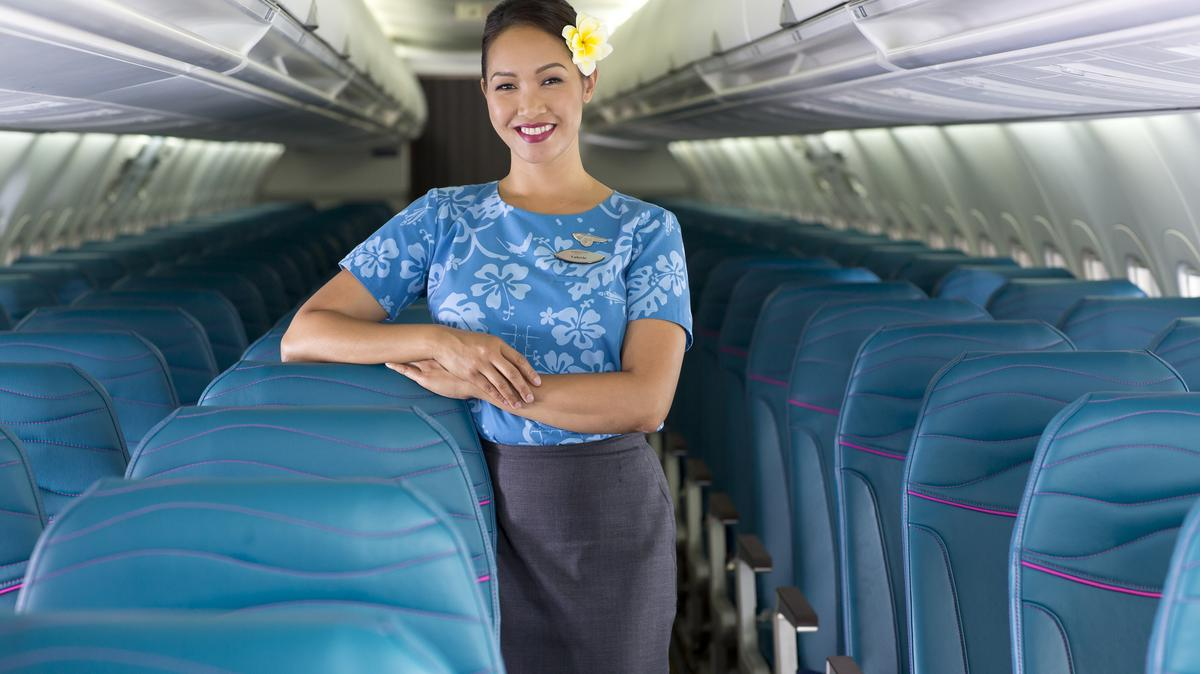 Hawaiian Airlines Introduces New Interior Cabin Design For